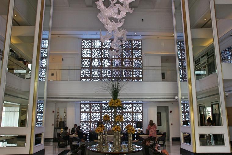 Taj Dubai Hotel Reception