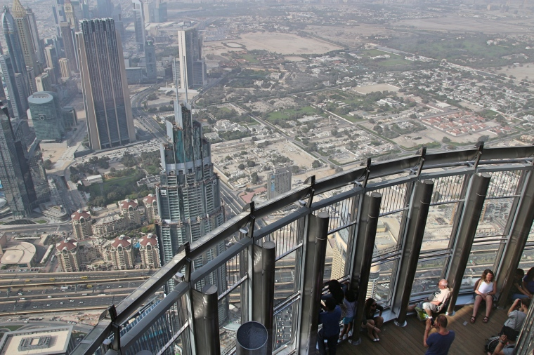 The Viewing Platform - Burj Khalifa