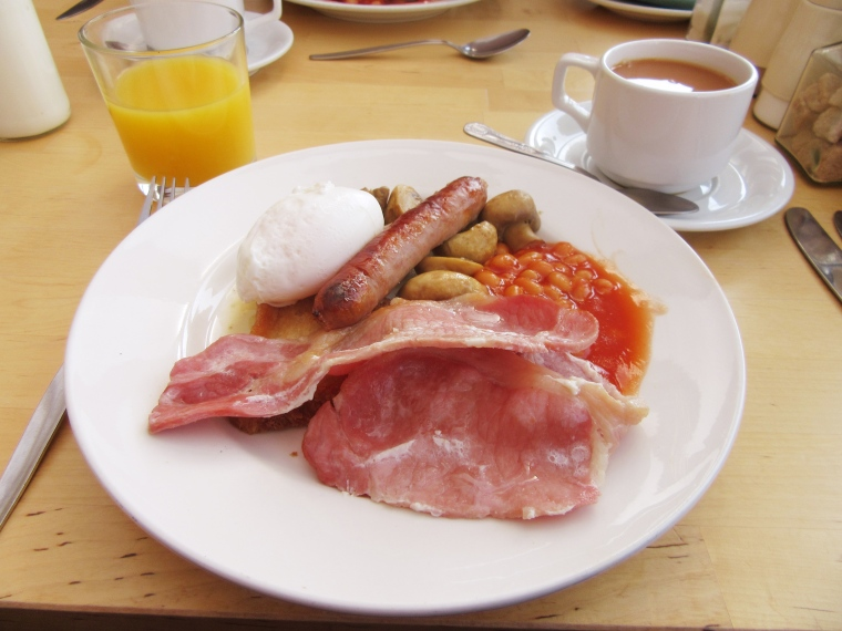 Breakfast at The Grainary, Scarborough