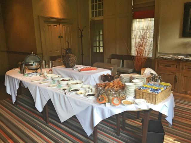 Breakfast Buffet available at Jesmond Dene House