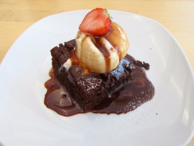 Chocolate Brownie at The Grainary