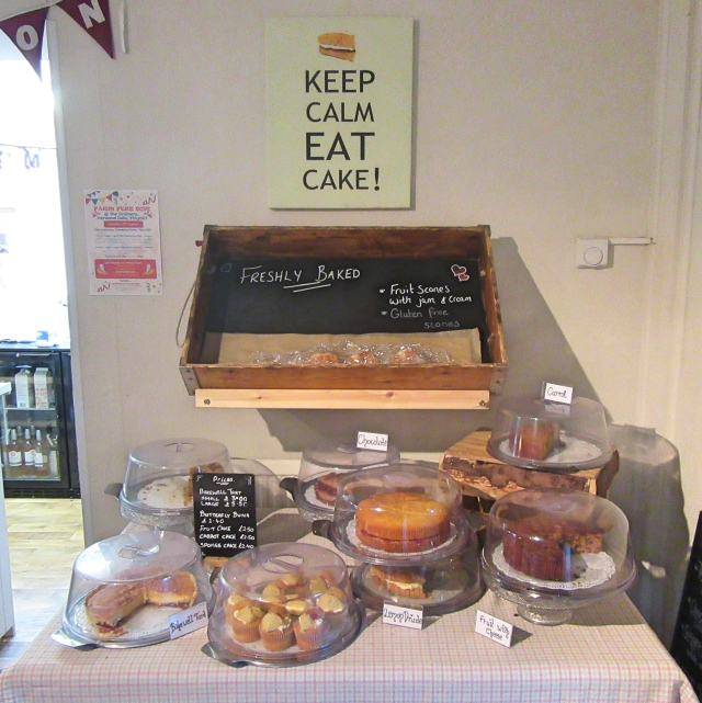 Fresh cakes to eat in or take away at The Grainary
