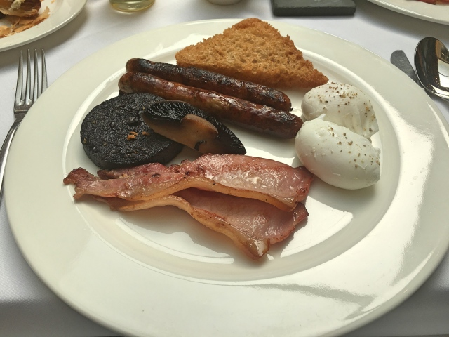Full English Breakfast at Jesmond Dene House