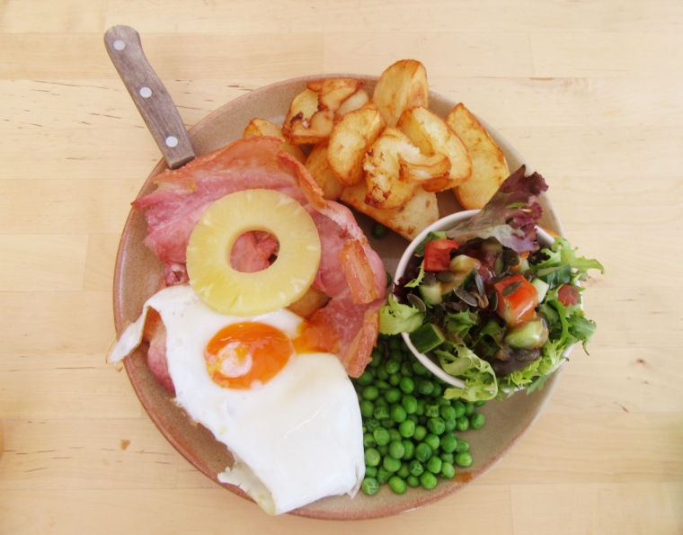 Gammon & Chips at The Grainary