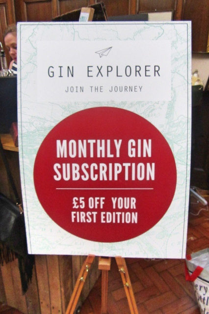Gin Explorer at The Gin Festival, Hull