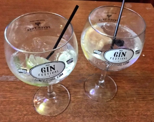 Porters & Brockton Gins at The Gin Festival, Hull