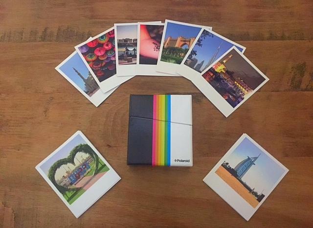 Polaroids from Cheerz
