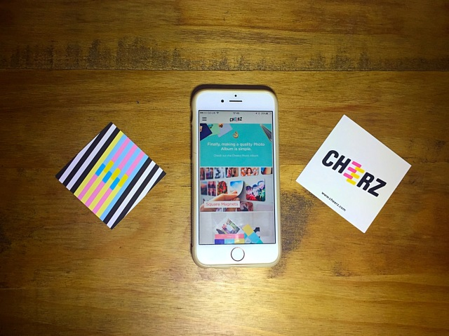 Easy to order from Cheerz
