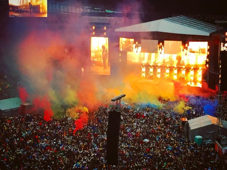 Stone Roses at Etihad Stadium, Manchester