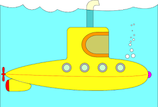 Visualise your plane as a Yellow Submarine