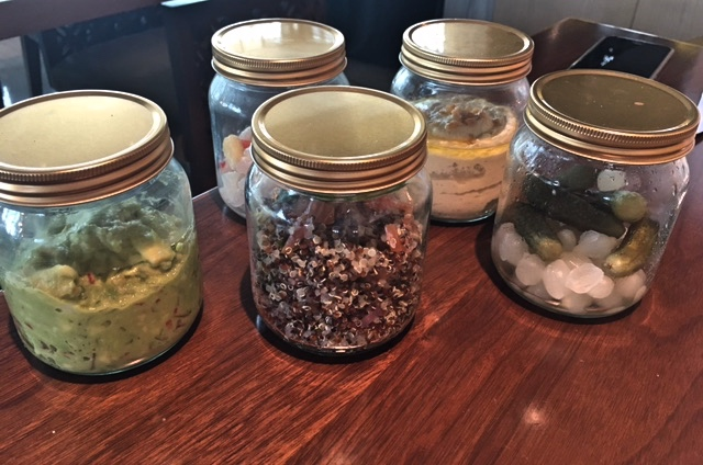 Jars of yumminess at the Treehouse Brunch, Dubai