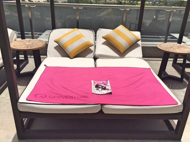 Lifeventure Towels are perfect for sunbathing on