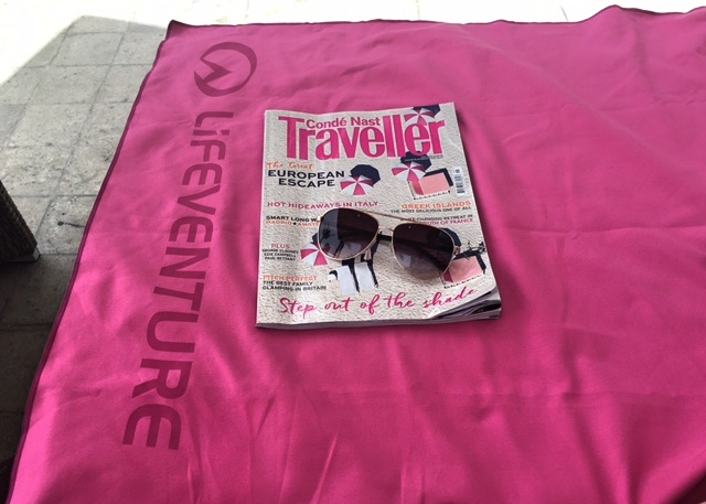 Lifeventure Travel Towels dried so quickly in the sun