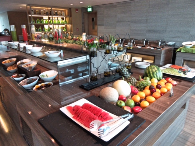 Lots of lovely fresh fruit at Friday Brunch, Dubai