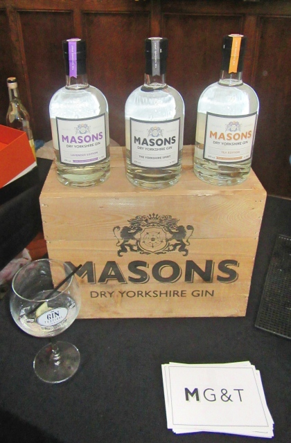 Masons Gin at The Gin Festival, Hull
