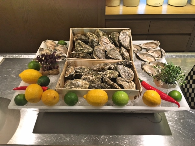 Oysters at Brunch, Dubai