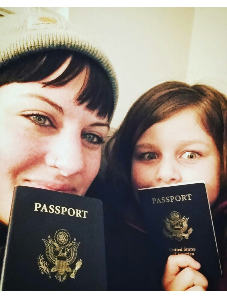 Emily & her daughter are ready for their amazing upcoming adventure