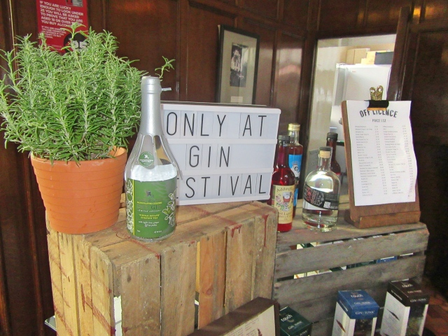 Shop at The Gin Festival, Hull