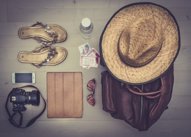 Packing your luggage ready for your trip!
