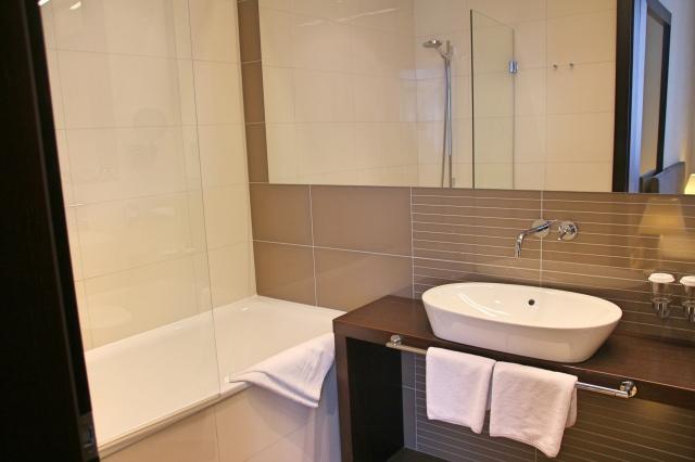 Bathroom in Delux Suite at Tulip House Boutique Hotel, Bratislava