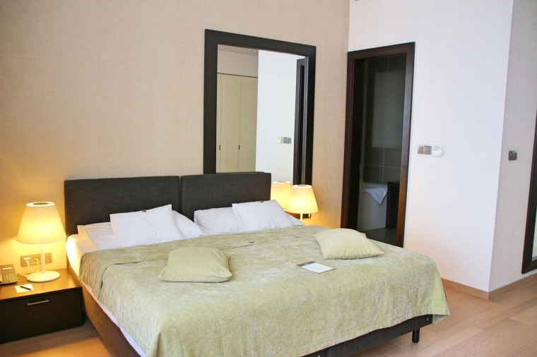 Bedroom in Deluxe Suite at Tulip House Boutique Hotel, Bratislava