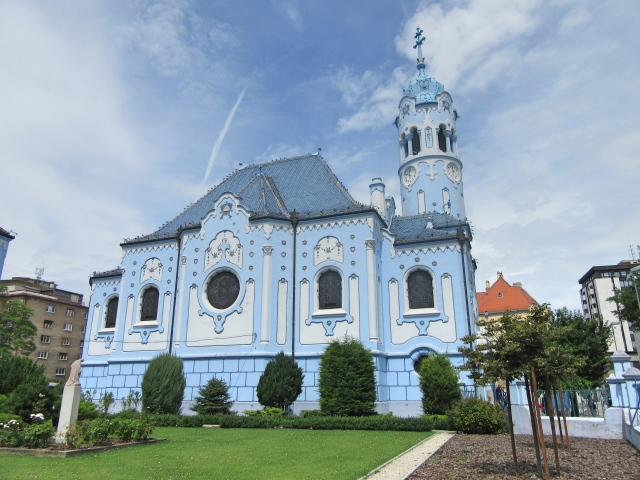 Church of St. Elisabeth, Bratislava