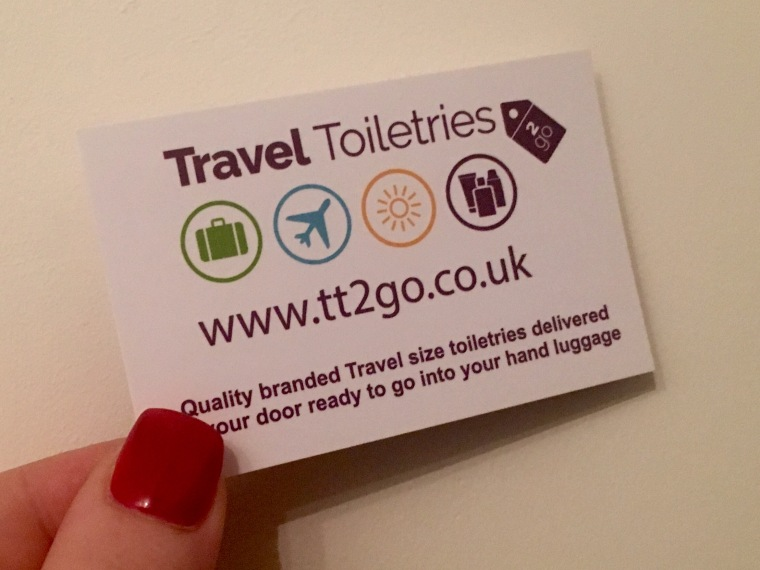 Travel Toiletries 2 Go - check out their website!