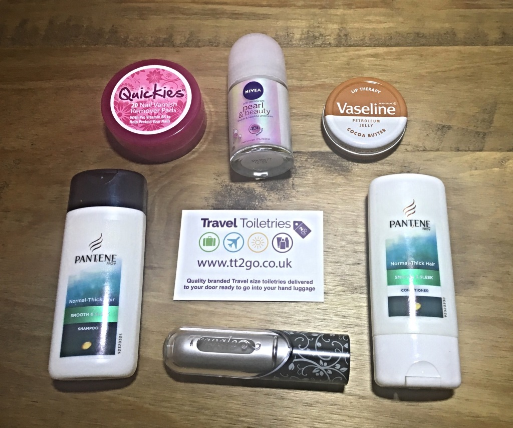 So many top brands are available in travel size from Travel Toiletries 2 Go