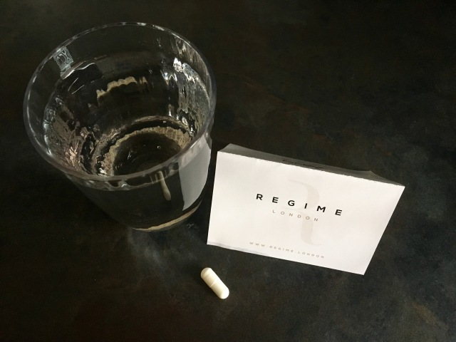 Remember to table your capsule with a full glass of water