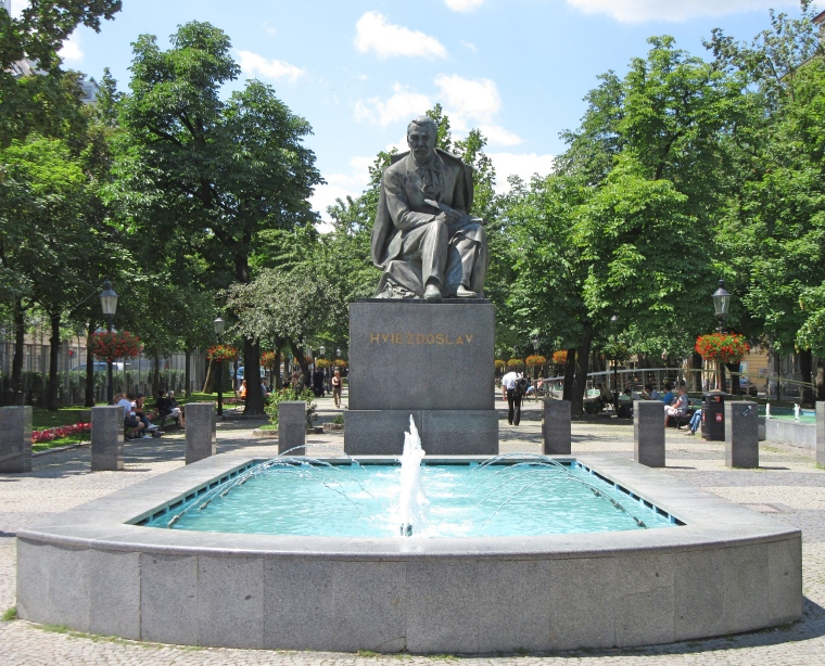 Hviezdoslav Statue, Bratislava - Famous Slovak Poet