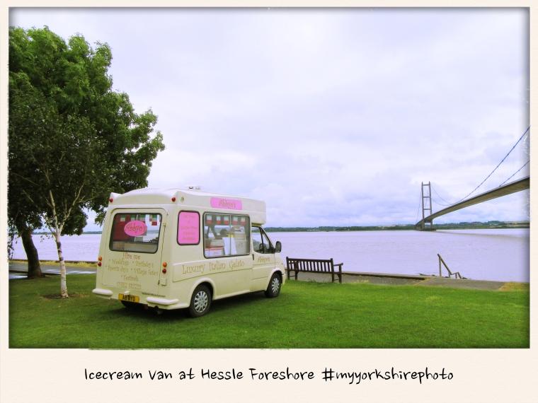 Icecream van at Hessle Foreshore #myyorkshirephoto