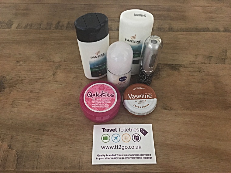 Check out Travel Toiletries 2 Go for your next short trip