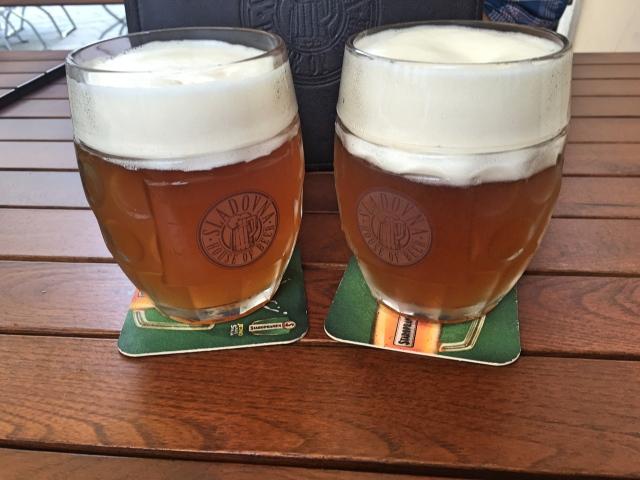 Lots of lovely beer in Bratislava