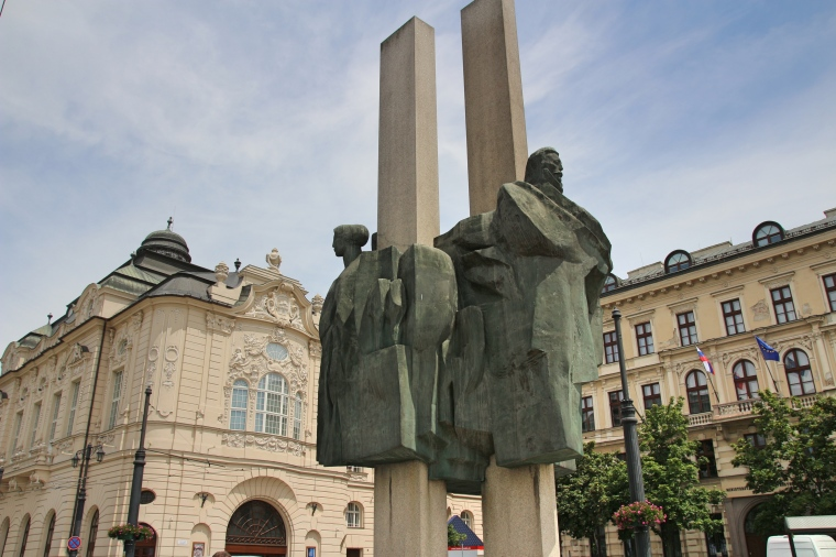 Ludovit Stur Statue, Bratislava