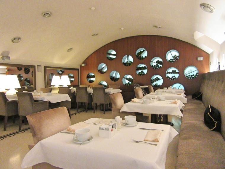 Rhapsody City Resturant at the Tulip House Boutique Hotel, Bratislava