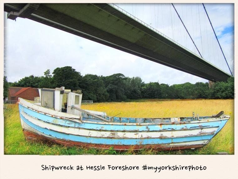Shipwreck at Hessle Foreshore #myyorkshirephoto