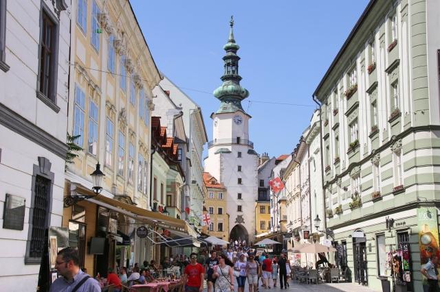 St Michael's Tower- city gate, Bratislava