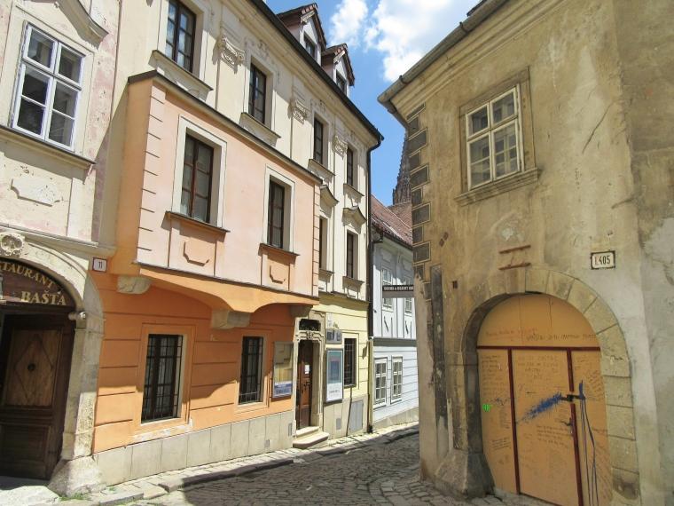 Streets in Bratislava, Slovakia