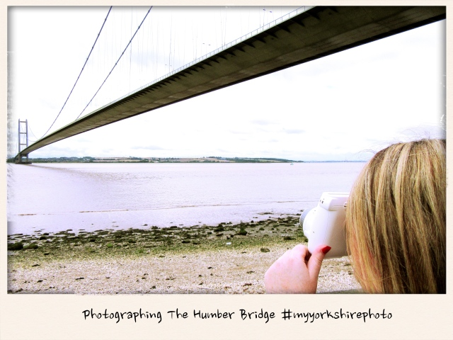 Taking photographs of The Humber Bridge #myyorkshirephoto