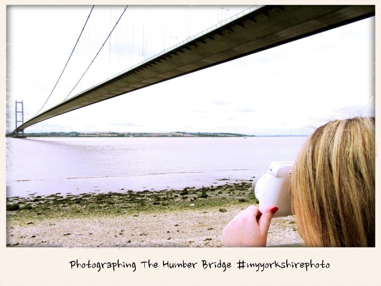 Taking photographs of The Humber Bridge #myyorkshirephoto