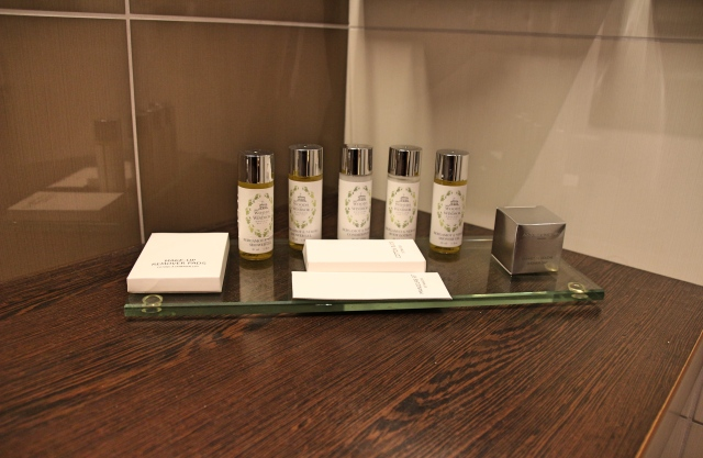 Toiletries in the Deluxe Suite at Tulip House Boutique Hotel, Bratislava