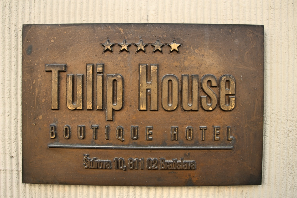 Tulip House Boutique House Hotel a 5 Star Hotel in Bratislava