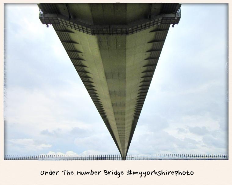 Under The Humber Bridge #myyorkshirephoto