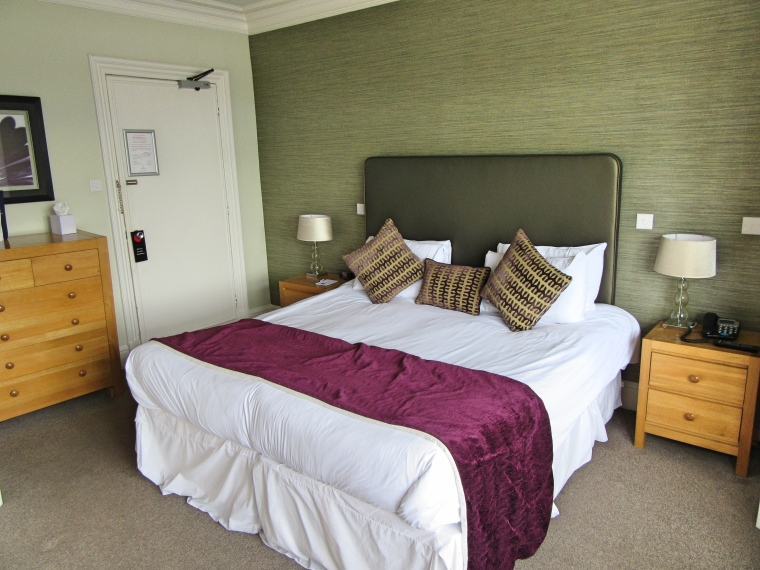Comfortable Bed in Room 73, Beech Hill Hotel & Spa