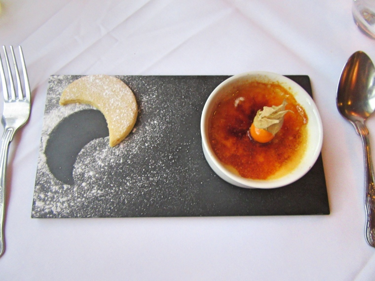 Creme Brulee at Beech Hill Hotel & Spa