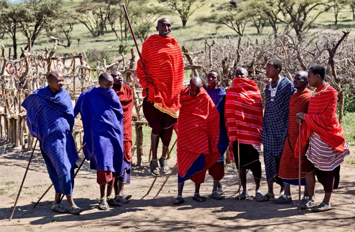 Learn about the local Maasai (or other ethnic tribe) and their lifestyle. Great for taking pictures!