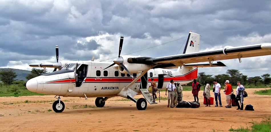Take a flight in Africa