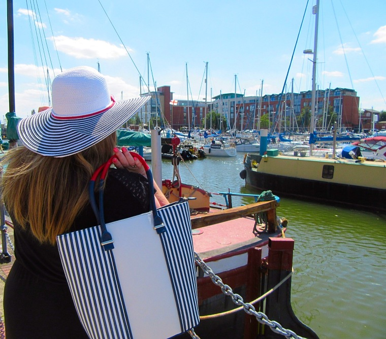 Barcelona Hat and Marina Bag from Pia Rossini