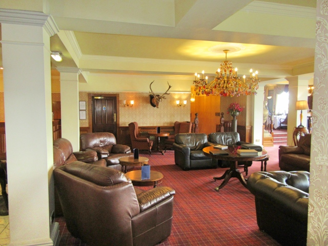 Lounge area at Beech Hill Hotel & Spa