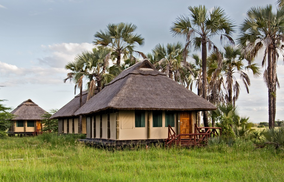 Yes, this really is a tent! Maramboi Tented Camp, Tarangire, Tanzania